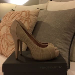 Shoes - Brand New Vince Camuto Moda Heels In Bisque ❤️